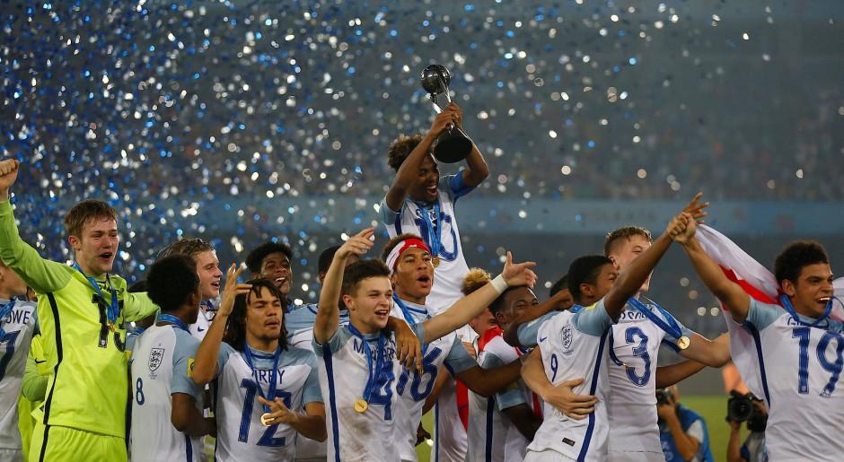 Erfolgreicher Nachwuchs: England hat die U17-WM gewonnen