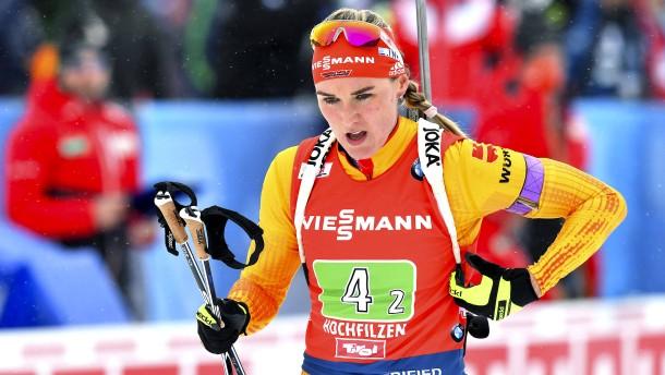 Die Nöte der deutschen Biathlon-Frauen