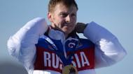 Olympiasieger in engen Grenzen: Alexander Subkow