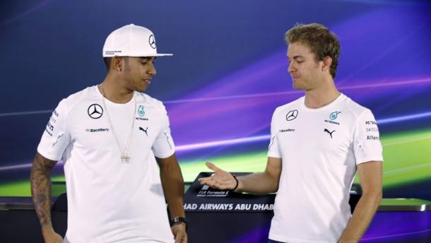 Wer nimmt Platz neben Hamilton?