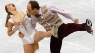 Schluss mit lustig: Nelli Zhiganshina und Alexander Gazsi können bei der WM 2015 nicht antreten