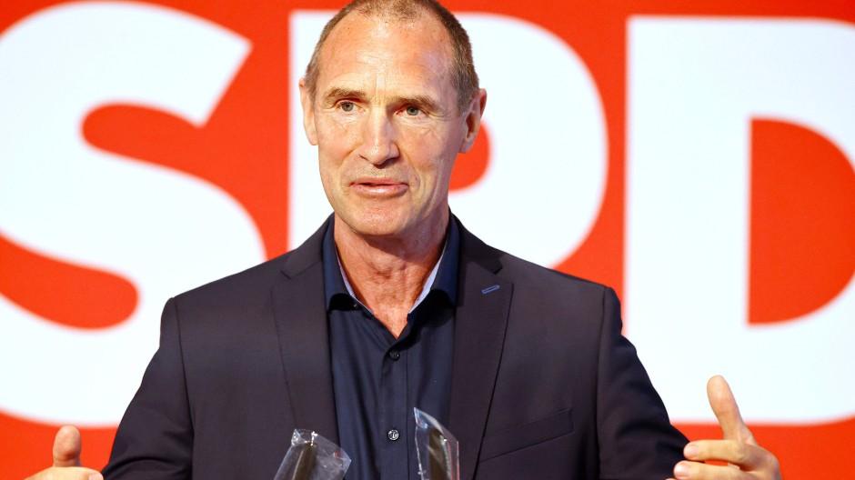 Frank Ullrich tritt für die SPD im Wahlkreis 196 an.