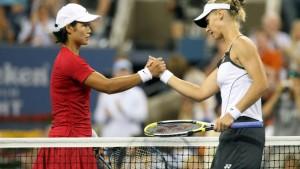Zwei Jelenas auf dem Weg zum Tennisthron