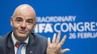 Aufstocken ist sein Zauberwort: Fifa-Chef Infantino