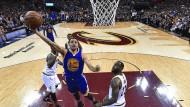 Abflug Richtung Titel: Stephen Curry und die Warriors führen im Finale der NBA 3:1