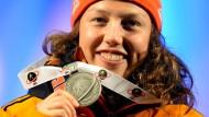 WM-Silber in der Verfolgung: Laura Dahlmeier