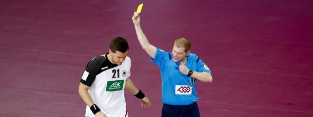 Die Schiedsrichter standen nicht nur beim deutschen Spiel im Fokus