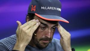 Alonso erträgt die Qual nur mit Zynismus
