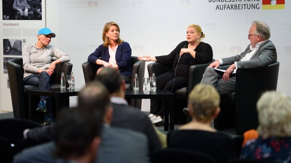 Betroffene reden über die Folgen von Doping.