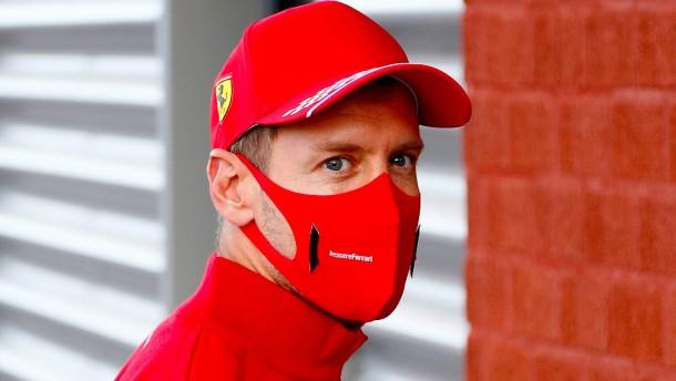 Vettel verabschiedet sich
