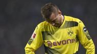 Nicht nur Andrej Jarmolenko lässt in Dortmund gerade den Kopf hängen.