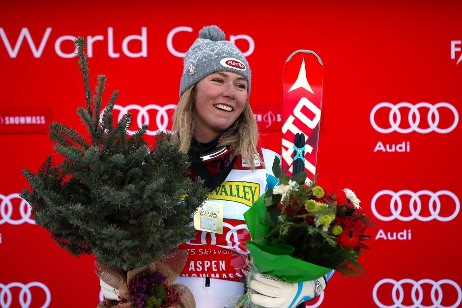 ski alpin mikaela shiffrins rekordsieg im slalom weltcup. Black Bedroom Furniture Sets. Home Design Ideas