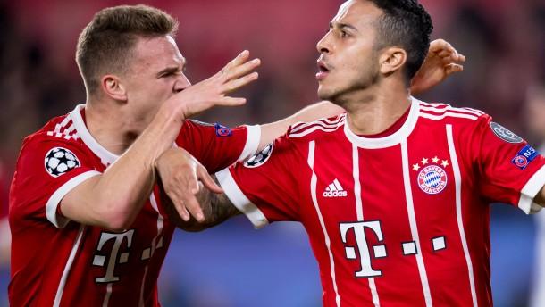Bayern auf dem Weg ins Champions-League-Halbfinale