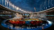 Die Fassade der Europa-Spiele glänzt, doch an Weißrussland gibt es scharfe Kritik.