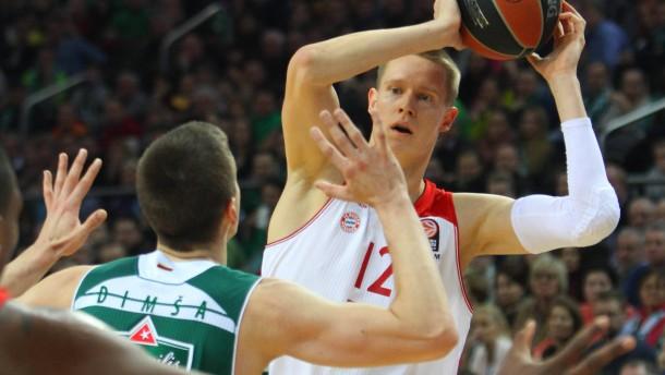 Bayern-Basketballer mit klarem Sieg in Litauen