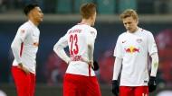 Wie schon in der Vorwoche in Dortmund verlor Leipzig auch gegen den HSV.