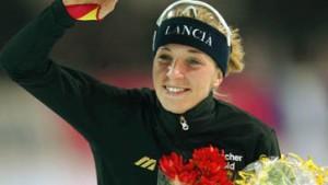 Drei Mal Gold für Anni Friesinger