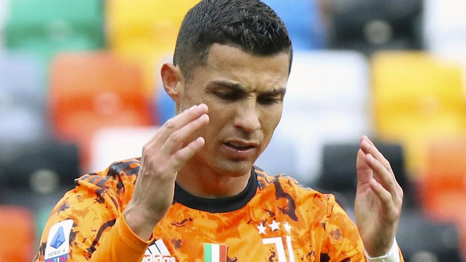 Das aktuelle Gesicht von Juventus Turin: Cristiano Ronaldo