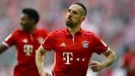 Starke Leistung: Franck Ribéry und die Bayern besiegen Dortmund klar.