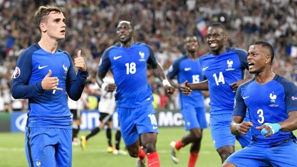 Frankreich holt den Titel