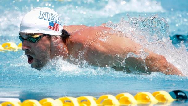 Phelps unterliegt im Finale seinem Landsmann Lochte