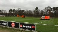Rettungshubschrauber-Einsatz in Frankfurt