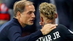 Tuchel schwärmt in höchsten Tönen von Neymar