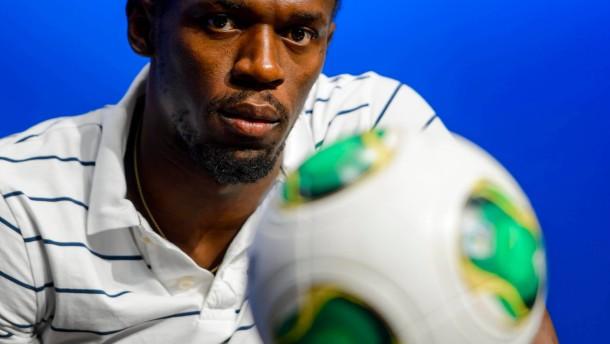 Sprint-Legende Bolt spielt bei Unicef-Gala