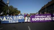 Deutliches Signal von der Straße – eine Demonstration in Berlin