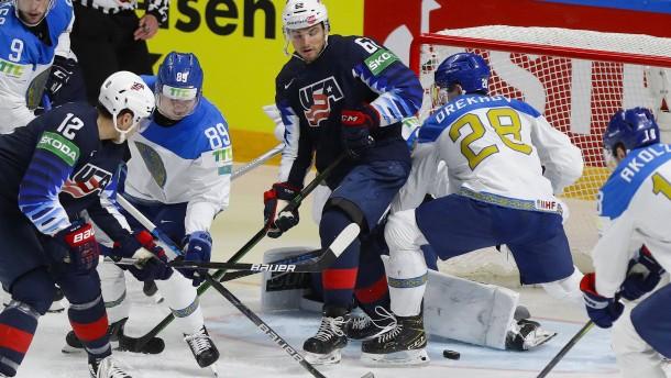 Kasachstan verliert gegen USA – Schweden mit erstem Sieg
