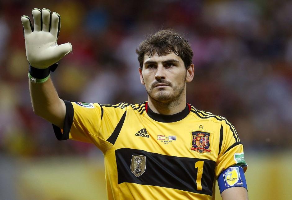 Langjährige spanische Nummer eins: Iker Casillas, hier 2013