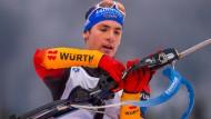 Simon Schempp ist die deutsche Hoffnung bei der Biathlon-WM 2015