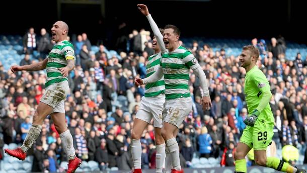 """Celtic gewinnt """"Old Firm"""""""