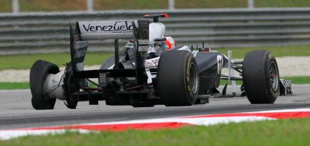 Läuft nicht rund: Barrichello im Williams