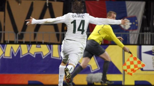 Slowenien beendet russischen WM-Traum