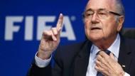 """""""Let's go Fifa. Let's go Fifa."""": Das ist das Motto von Präsident Joseph Blatter"""