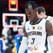 Konnte das Aus nicht abwenden: Basketball-Nationalspieler Dennis Schröder bei der WM in China