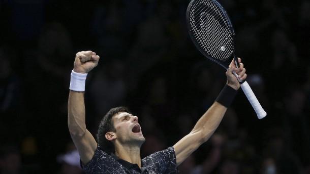 Djokovic dominiert die Tennisszene