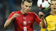 Auch erfolgreich: Vladimir Darida von Hertha BSC trifft in San Marino
