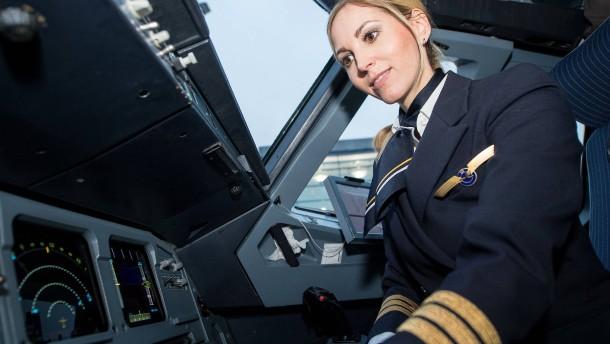 Frauen fürs Cockpit gesucht