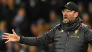 Erst hatten sie kein Glück und dann kam auch noch der Schiedsrichter dazu, findet Liverpool-Trainer Jürgen Klopp.