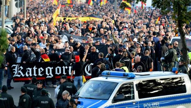 """""""Das war keine Fußball-Demo"""""""