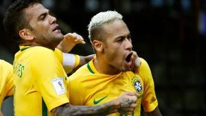 Neymar schießt Brasilien zum Sieg
