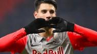 Außergewöhnlich: Leipzig zahlte für Dominik Szoboszlai 20 Millionen Euro.