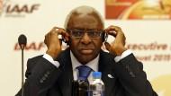 Lamine Diack ist einer der Hauptbeschuldigten in der Affäre um das internationale Geschäft mit der Doping-Vertuschung