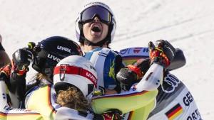 Nächste Medaillenparty für das deutsche Ski-Team