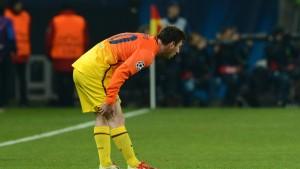 Messi fehlt Barcelona vorerst