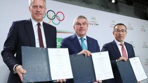 Milliarden aus der Flasche für das IOC