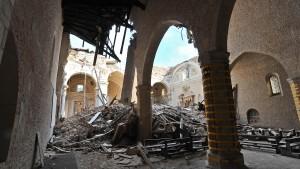 Italien scheitert am Aufbau seiner Erdbebenstadt