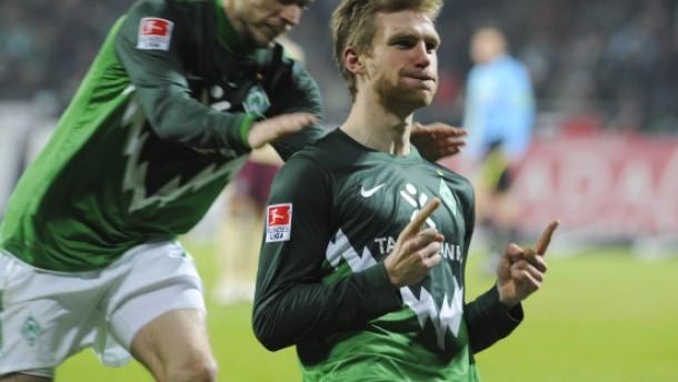 Mühsam ernährt sich Werder